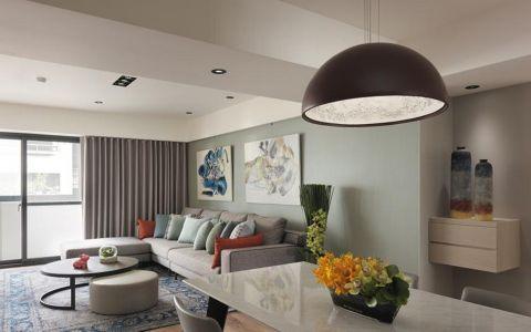 客厅吊顶韩式风格装修效果图
