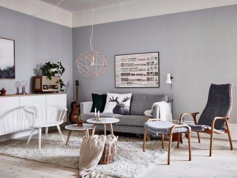 和平家园70平一居室装修效果图