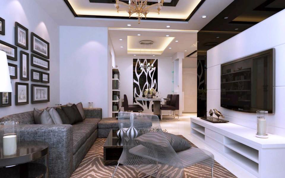 3室1卫2厅85平米现代风格