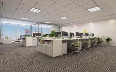 紫峰大厦办公楼简单装修效果图