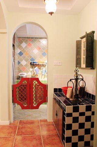 卫生间吊顶地中海风格装饰设计图片