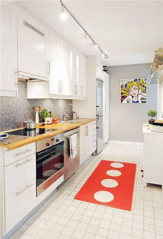 厨房吊顶简约风格装潢设计图片