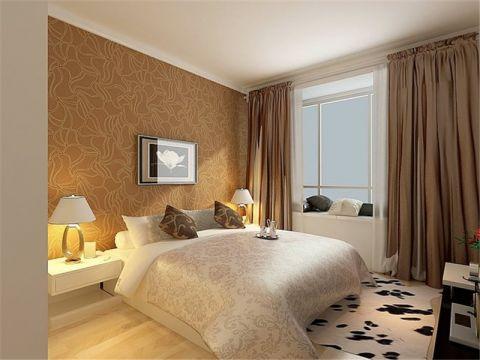 卧室飘窗现代风格装饰图片