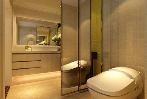 卫生间吊顶现代简约风格效果图