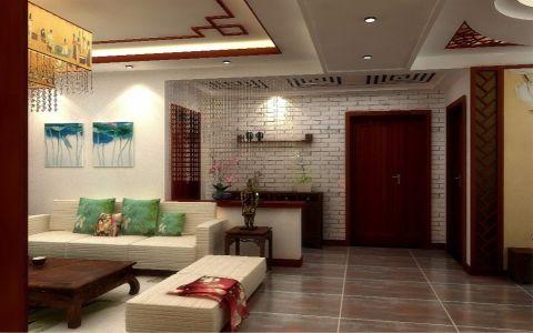 客厅中式风格装潢图片