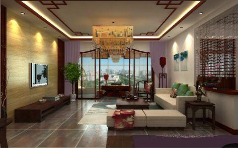 客厅中式风格装修设计图片