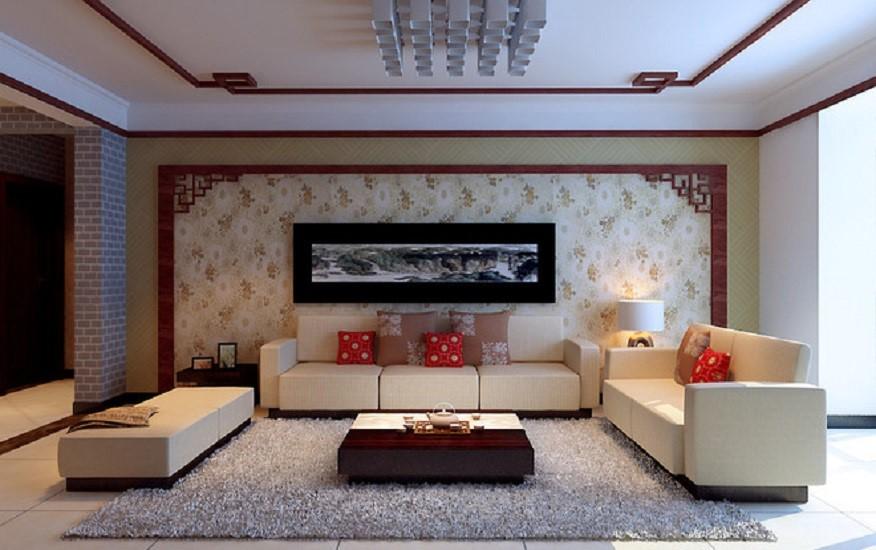 3室2卫1厅98平米新中式风格