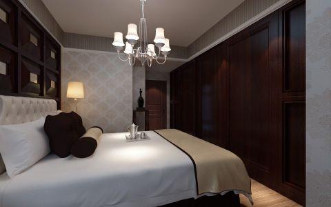 卧室背景墙洛可可风格装修效果图