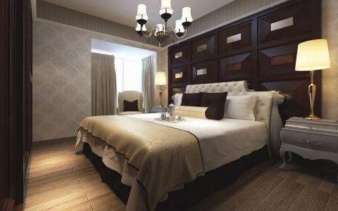 卧室背景墙洛可可风格装饰效果图