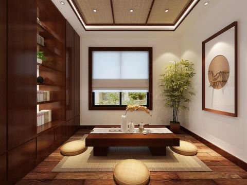 2021简约150平米效果图 2021简约三居室装修设计图片
