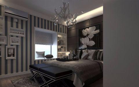 武汉天街三室两厅现代风格装修效果图