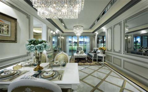 联泰香域90平米二居室欧式风格装修效果图