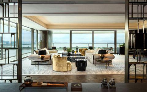 阳光家园80平米二居室现代简约风格装修效果图