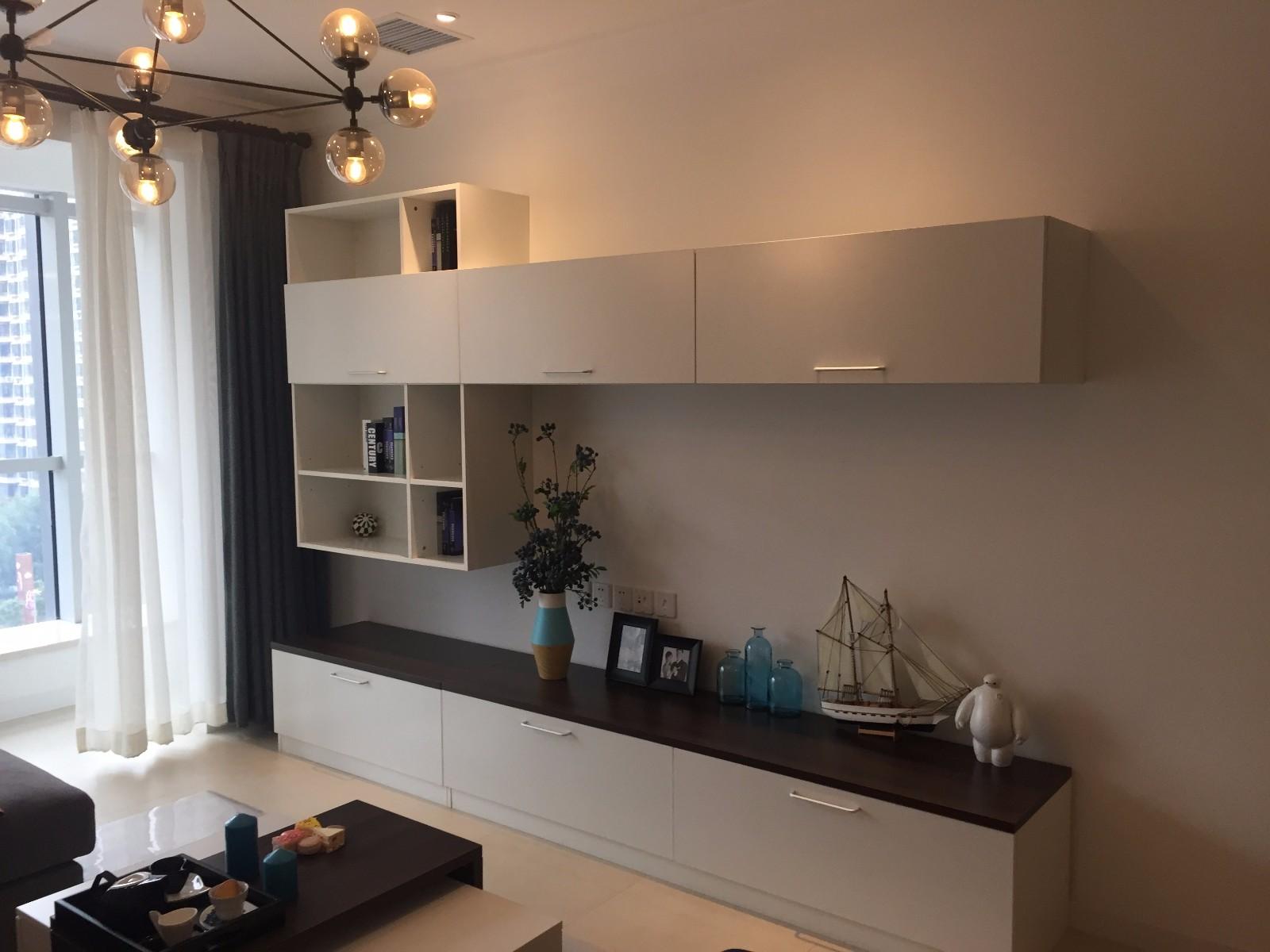 1室1卫1厅80平米简约风格