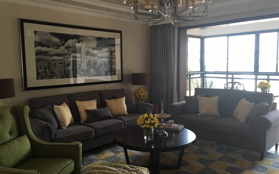 3室1卫2厅113平米简约风格