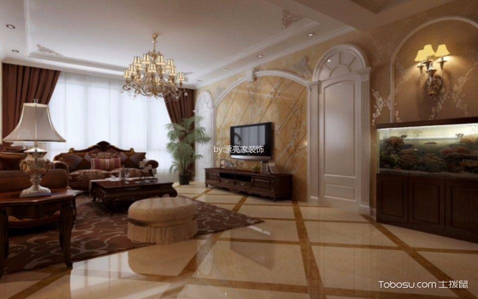 瑞安·城中汇150平米欧式风格四居室装修效果图