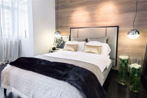 江岸水城两居室现代简约家装效果图