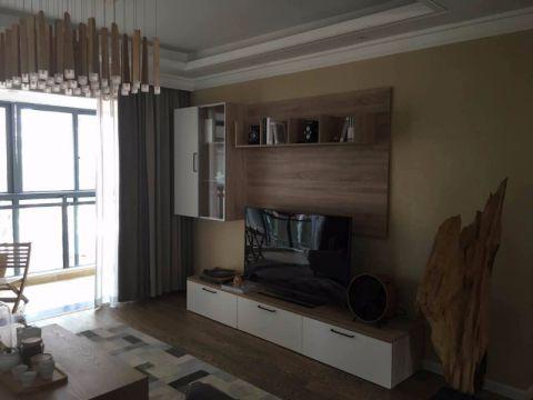 2019简约100平米图片 2019简约二居室装修设计