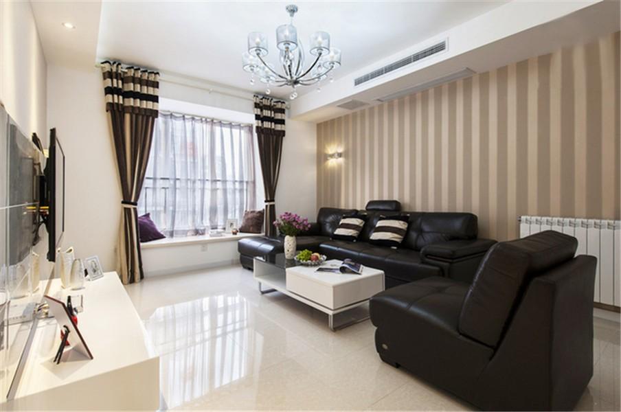 2室1卫2厅80平米简约风格