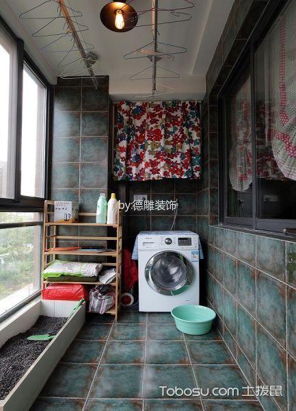 阳台_锦汇城 美式装修风格效果图