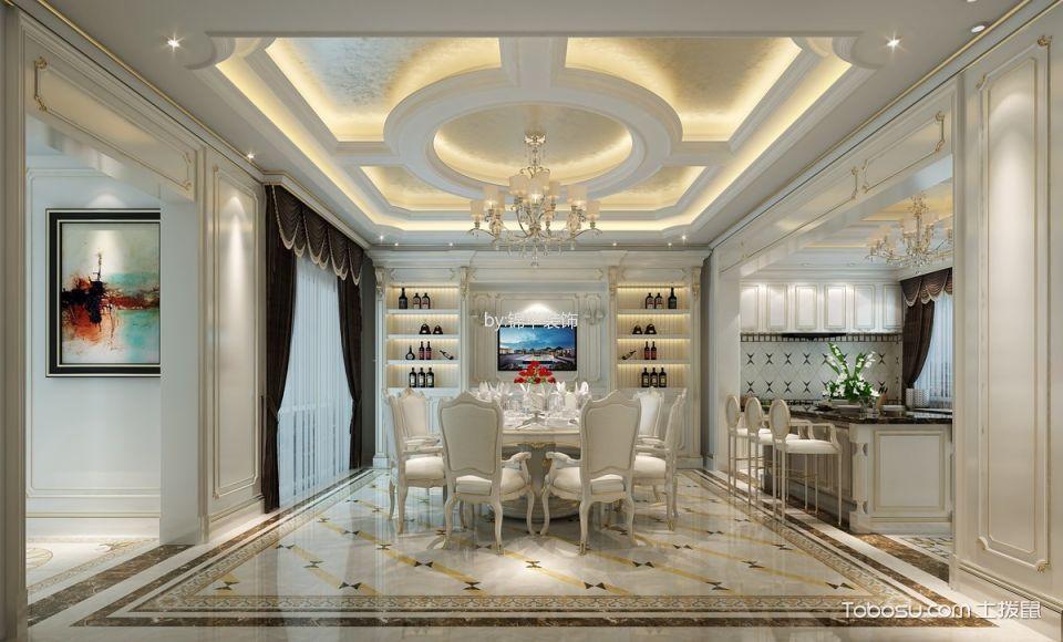 2020洛可可300平米以上装修效果图片 2020洛可可别墅装饰设计