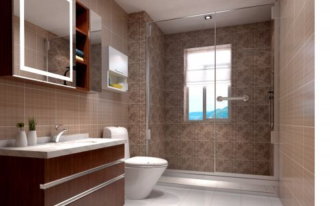 卫生间简约风格装修设计图片