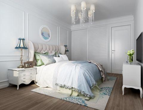 卧室简欧风格装饰图片