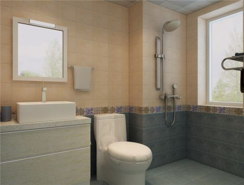 卫生间混搭风格装修设计图片