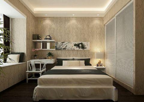 卧室背景墙经典风格装饰效果图