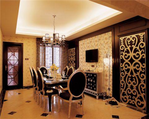 蓝宝湾两居室新古典家装效果图