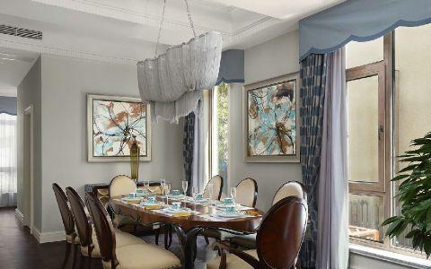 济南重汽莱蒙湖180平米混搭风格两房一厅装修效果图