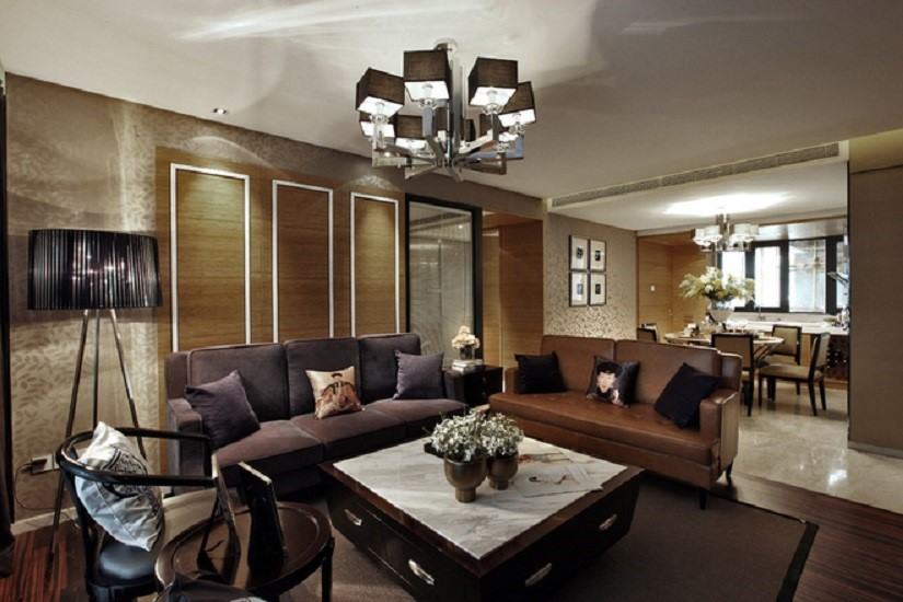 3室2卫1厅143平米日式风格