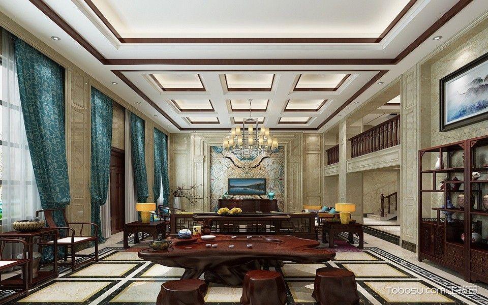 效果图专题 局部之美 赏析中式客厅吊顶图片大全,一同打造大美之家图片