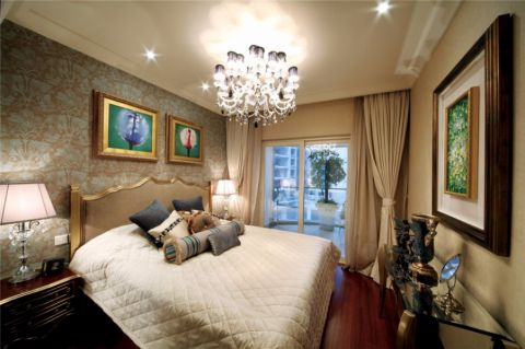 卧室窗帘欧式风格装修效果图