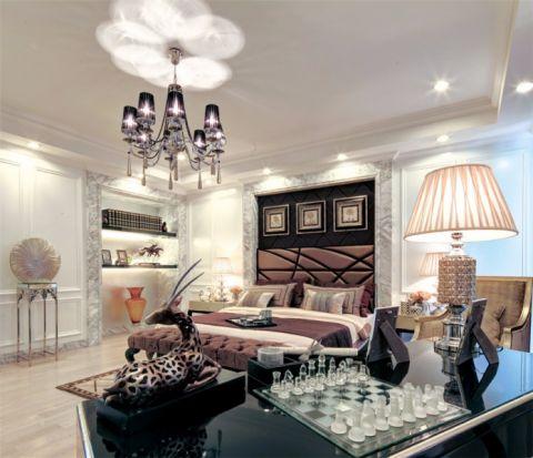 卧室吊顶欧式风格装修设计图片