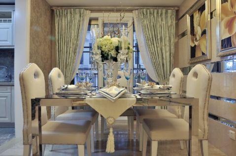 餐厅新古典风格装潢效果图