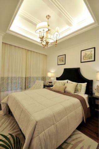 卧室新古典风格装潢图片