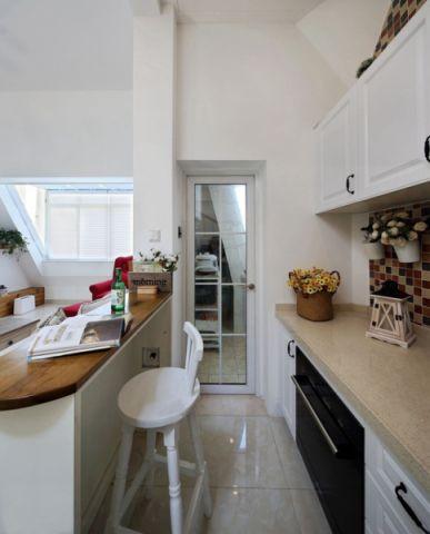 厨房背景墙北欧风格装饰效果图