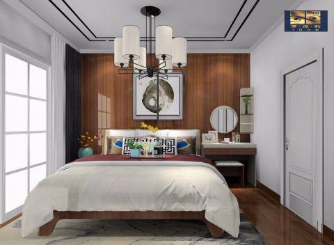 卧室新中式风格装饰设计图片