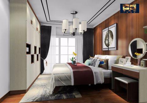 卧室新中式风格装潢设计图片
