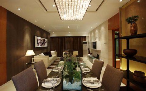 餐厅现代简约风格装潢图片