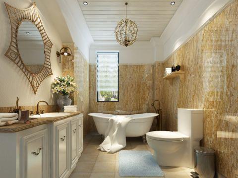 卫生间地中海风格装饰图片