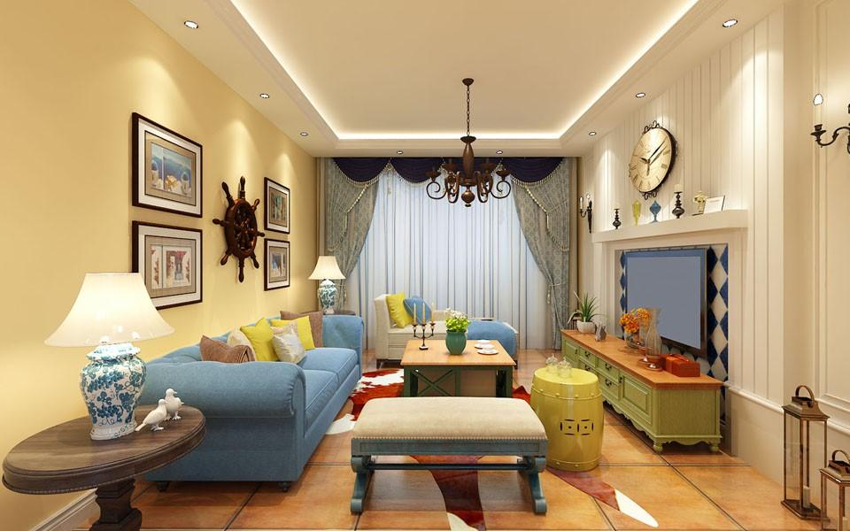 3室2卫2厅125平米混搭风格