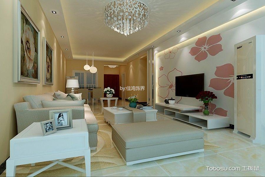 星城国际108平米现代简约风格套房装修效果图