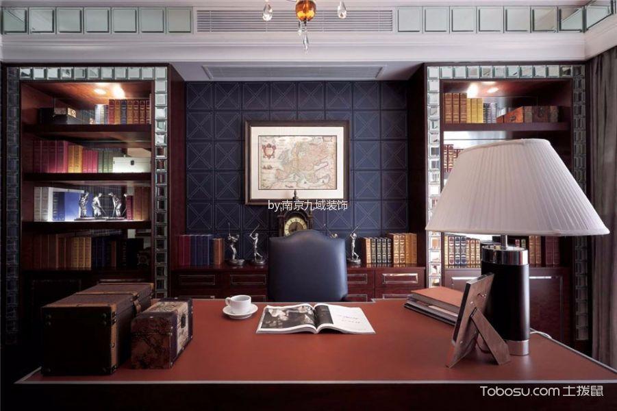 颐和南园大户型美式家装效果图