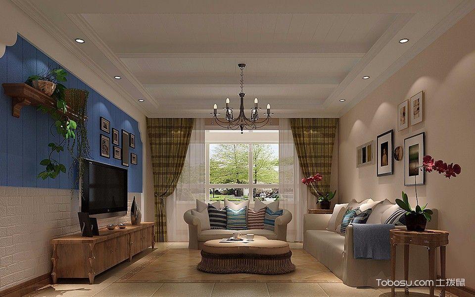新汇华庭3室2厅2卫165㎡后现代风格效果图