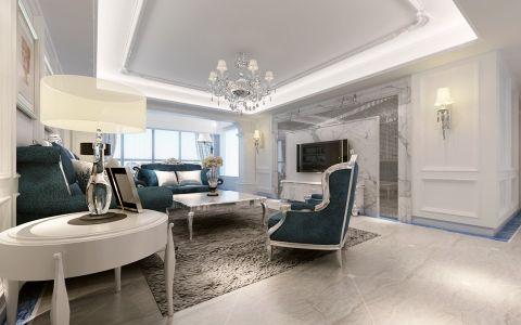 2018新古典150平米效果图 2018新古典四居室装修图