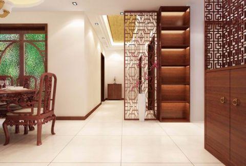 2021新中式80平米设计图片 2021新中式三居室装修设计图片