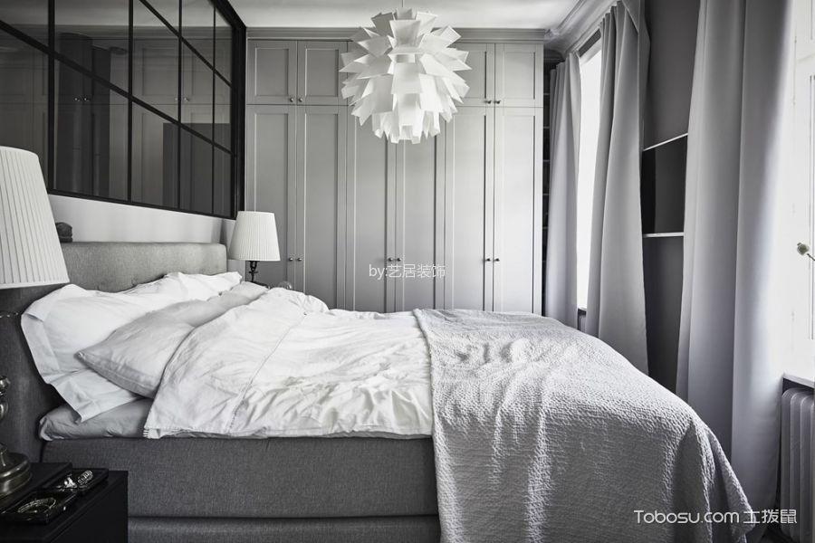 2019洛可可卧室装修设计图片 2019洛可可窗帘装修图