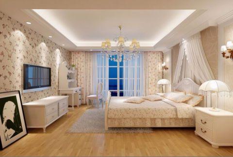 刘家窑南里100平米田园风格三房两厅装修效果图